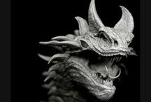 Our favourite monsters! / A selection of our favourite monster creations from our galleries, mags and books! / by 3DTotal