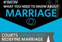 Marriage Infographics / by NOM - National Organization for Marriage