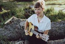 ukulele girl. / by Lory.