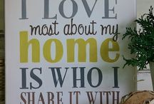 Makin my house a home / by Linsey Gile