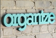 Organizing / by The Pink Tractor