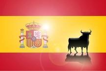 * ESPAÑA & Andorra. Spain is diferent. / Spain, Espagne, Spanje. Madrid, Barcelona, Sevilla, Ibiza, Mallorca, islas Canaries,  / by Madrigal De La Vera, Puerta de la Vera. Spain.