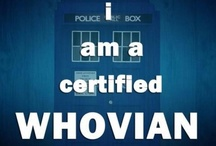 Whovian Nation / No words are really necessary it's DR. WHO / by Sarah Welch
