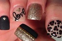 """I <3 NAILS!!"" said the manicurist.  / by Destiny Hightower"