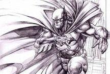 DC / Batman / Line / by Katerina Andreeva