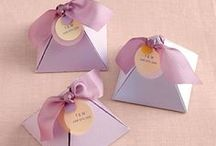 Gift wrapping ideas / by Laura