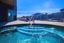 Centre de Santé * 12th floor Oasis / by Hotel Le Crystal