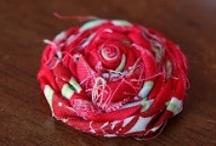 Fabric Flowers / by Natalia Babilon