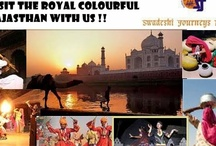Trip to India with Swadeshi Journeys Pvt Ltd !! / www.swadeshijourneys.com   Would like to have an opportunity to serve you and your valuable guests, with our very efficient and best services. Please ask  for the services at any part of  India, such as Agra, Rajasthan, Goa, Mumbai, Himachal Pradesh, Leh-Ladakh, Srinagar, Uttranchal, South India – Kerala, Bangalore, Chennai or any other places as per requirement.  Will provide you our best services at all the time.  E-mail : swadeshijourneys@vsnl.net; swadeshijourneys@airtelmail.in  / by Swadeshi Journeys Pvt Ltd