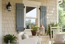 Cottage One / Love the front door color! / by 60010