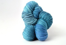 Caribbean Sea / The colors and moods of Caribbean Sea, in TRANQUILITY and ZARA HAND-DYED / by TSCArtyarns