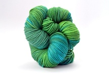 Rainforest / The colors and moods of Rainforest, in TRANQUILITY and ZARA HAND-DYED / by TSCArtyarns