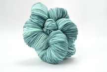 Tidal Pool / The colors and moods of Tidal Pool in TRANQUILITY and ZARA HAND-DYED / by TSCArtyarns