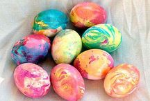 Easter decor/crafts / by Catherine Delp