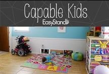 Capable Kids Clubhouse / Art projects and fun activities for kids to do at home or in school. Includes adaptive activities for special needs kids. / by EasyStand