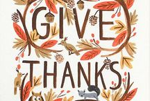 Thanksgiving decor/crafts / by Catherine Delp