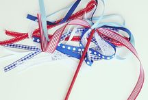 4th of July decor/crafts / by Catherine Delp