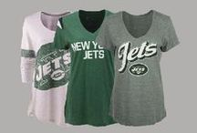 NFL Fan Style | Jets / Locker Room by LIDS has the best selection of NFL apparel, headwear and novelty products. Don't limit your team spirit to gameday - Support the New York Jets in your everyday looks! Shop at www.LIDS.com.  / by Locker Room by LIDS