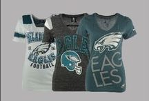NFL Fan Style | Eagles / Philadelphia Eagles #NFLFanStyle for Women and Men from Locker Room by LIDS / by Locker Room by LIDS