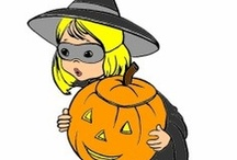 Halloween for Kids / Halloween coloring pages and printable activities, Halloween crafts and more fun for kids! / by Raising Our Kids