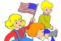 Patriotic Fun for Kids / Patriotic coloring pages and printable activities, Patriotic crafts and history for kids! / by Raising Our Kids