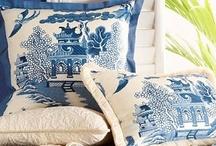 Blue & white / by ❀ Rivi ❀