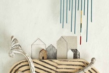 artful house / art beautifully displayed, and pieces with which I'd love to fill my house! / by Emily Watson