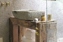 Home:  Rustic Bathrooms   / by Janet Reiten-Peterson