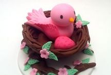 Baking---fondant/fimo, gumpaste, modeling chocolate, royal icing, sugar, for cakes / by Evelyn Thiele