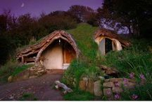 Cob & strawbale homes. / by Lorelei Alli