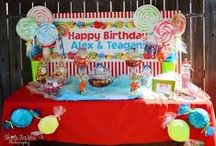 Candy Land/Cupcake Birthday Party / by Hoot Hoot Hooray Productions