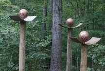 Garden - Sculptures & Outdoor Decor / by Ronel Breet