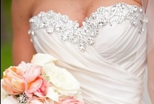 Weddings - Bejeweled Delight / Wedding couture - Inspirations with crystals, rhinestones and lots of bling / by Ronelle Van Rooyen / Delicate Elegance Events