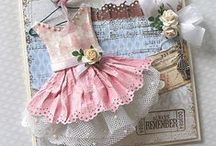 Creative Cards - Dresses / by Ronelle Van Rooyen / Delicate Elegance Events