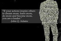 Leadership / by Sandra W. Spivey, Ed.D.