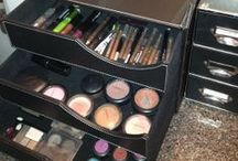 Organized and clean / organize and clean your beauty products! / by jaz.does.makeup