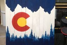 Colorado on my mind / I was born and raised in Rocky Mountains of Colorado. The mountains will always be my home.  / by Christine Wieczorek-Mullen