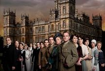 """Downton Abbey"" 's world! / The Abbey is given new life in the PBS production.  I am a fan with millions of others!  / by Pat Ervin"