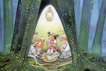Illustrations for children / by Barbara Kane