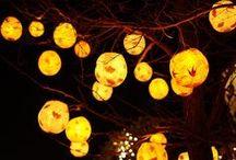 Chinese Lanterns-glow / by Winona Taylor