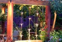 outdoors yard and garden / by Janet Biggers