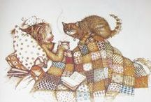 """CAT! / """"What greater gift than the love of a cat?"""" (Charles Dickens)  """"NICE TO HAVE A CAT""""  / by Kathleen Joos"""