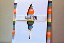 cards using dies/folders / by Deborah