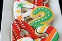 Letter / Number/ Monogram Cookies / by Momma Zinga