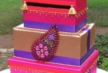 Indian Wedding Card Boxes / Card boxes for Indian weddings and receptions / by Indian Wedding Site