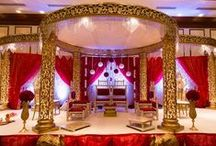 Indian Wedding Mandaps / Mandaps for Indian Hindu wedding ceremonies. From pillars to drapes to florals - our mundaps showcase so many styles for your wedding! / by Indian Wedding Site