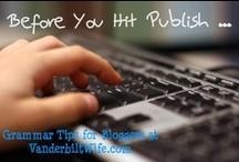 Bloggy Stuff / by Jessie Weaver, Vanderbilt Wife