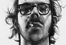 "Chuck Close / ""Inspiration is for amateurs. The rest of us just show up and get to work. If you wait around for the clouds to part and a bolt of lightening to strike you in the brain, you are not going to make an awful lot of work. All the best ideas come out of the process; they come out of the work itself."" ― Chuck Close / by Sarah Case"