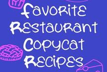 Copycat Recipes / Saving a little money on Copycat recipes instead of going out often for some of our favorites. / by Christine Leach McIntire