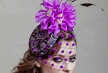 Purple Fascinator  / #Purple #Fascinators #Online / by Forever Fascinators
